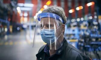 Ford tillverkar munskydd och ansiktsvisir