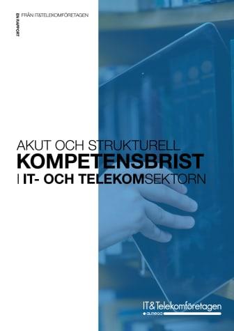 Rapport: Akut och strukturell kompetensbrist i IT- och Telekomsektorn