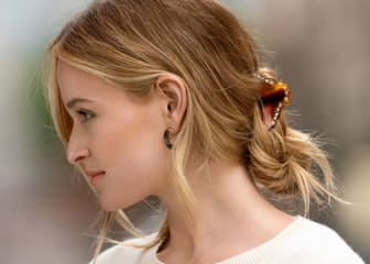 Modellbild hårklämma