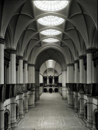 Nordiska museet efter invigningen 1907