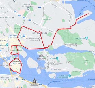 Körväg Stockholm