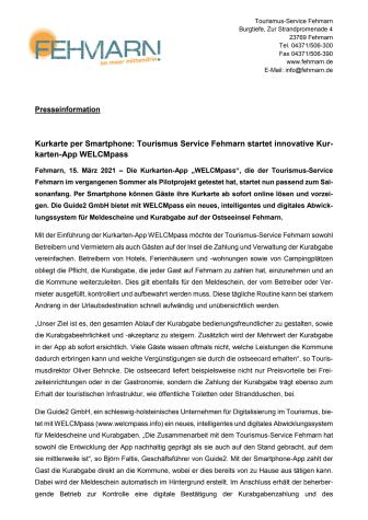 Presseinformation_Tourismus-Service Fehmarn_WELCMpass.pdf