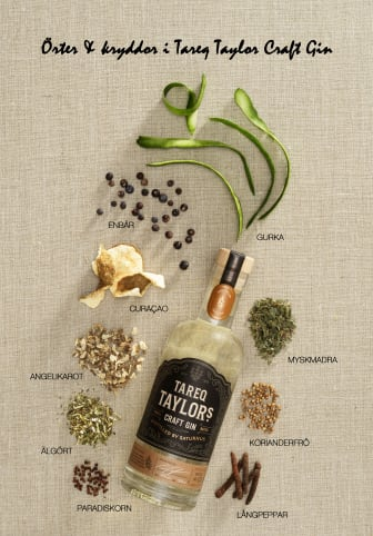 Tareq Taylor Craft Gin örter & kryddor