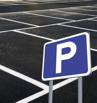 Förbokad parkering på Malmö Airport