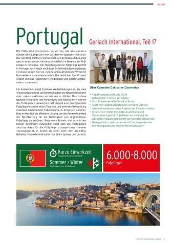 Gerlach in Portugal: Schönheitsideale prägen die Fußpflege