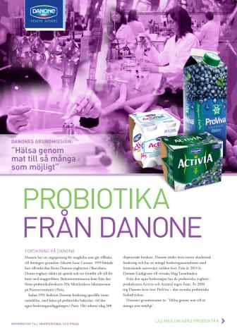 Faktablad Probiotika & Produkter