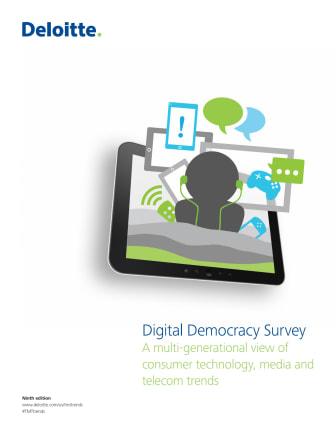 Deloitte Digital Democracy Survey - ninth edition