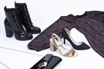 """Scorett x Gina Tricot - """"Rent your party shoes"""""""