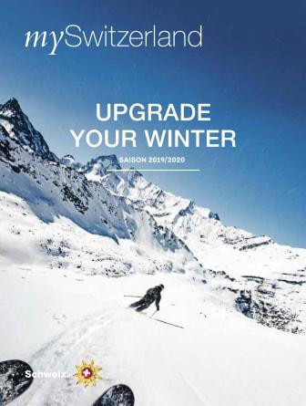 mySwitzerland Winter-Magazin: UPGRADE YOUR WINTER