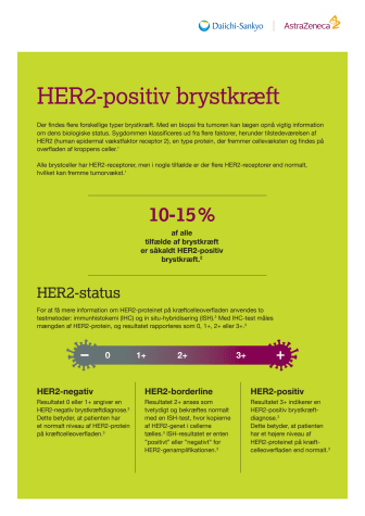HER2-positiv brystkraeft