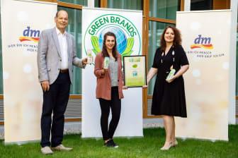 GREEN BRANDS: Auszeichnung für alverde NATURKOSMETIK 2021/22