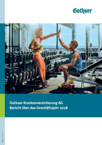 Gothaer Krankenversicherung AG: Bericht über das Geschäftsjahr 2018