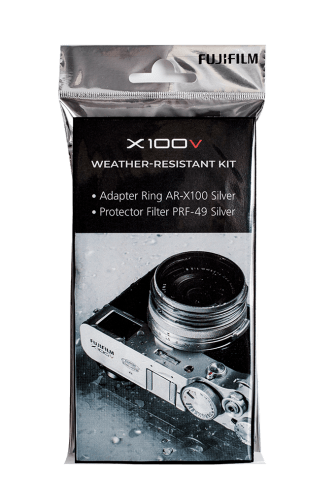 X100V wrkit silver