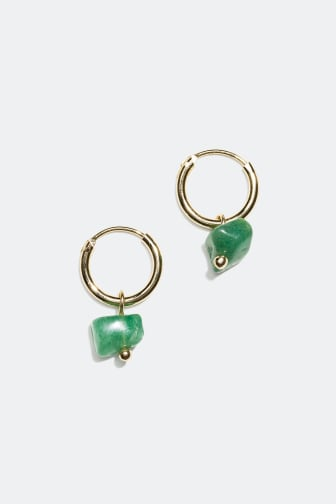 Earrings with semi precious stones - 7.99 €