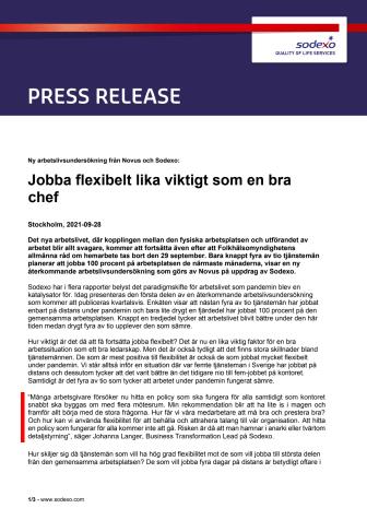 PM Ny arbetslivsundersökning från Novus och Sodexo Jobba flexibelt lika viktigt som en bra chef.pdf
