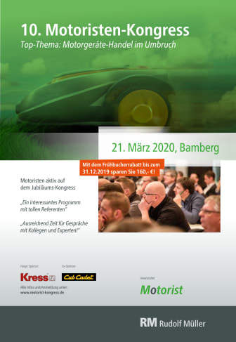 Flyer 10. Motoristen-Kongress