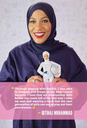 """Barbie zeigt Mädchen, dass sie alles sein können, und würdigt Muhammad als neueste Heldin der """"Shero""""-Serie ."""