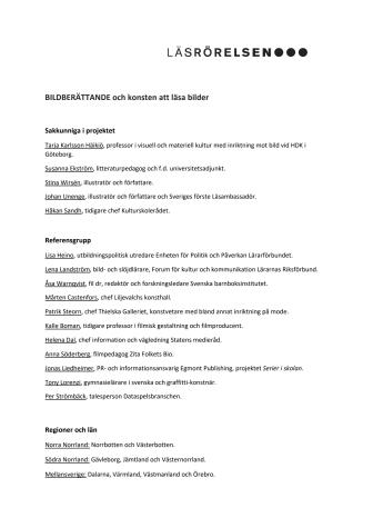 Sakkunniga, referensgrupp, regioner och län, samarbetspartner PDF