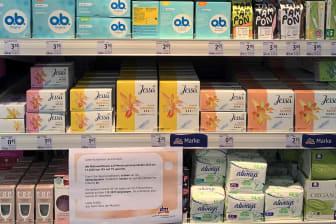 Pressebild Menstruationsprodukte