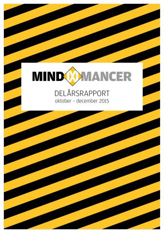 Delårsrapport för Mindmancer AB (publ) Q4 2015