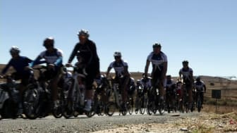 Discovery Vitality - A ride for charity with Tyler Hamilton