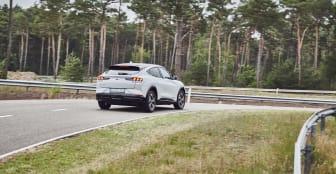 Mustang Mach-E testing Lommel 2020