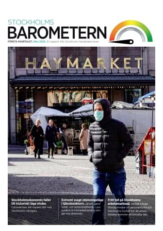 Stockholmsbarometern, kvartal 1 år 2020
