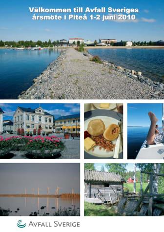 Avfall Sveriges årsmöte 2010