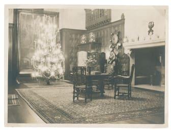 Jul på Tjolöholms Slott 1923