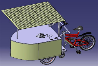 Design - Solar Ironing Cart