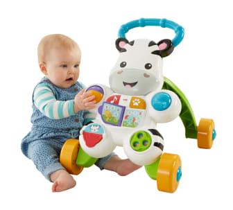 Lern mit mir - Zebra Lauflernwagen