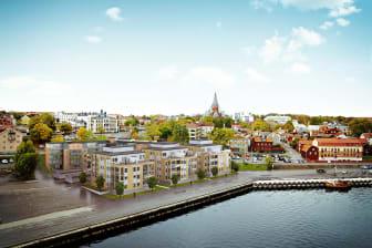 Brf Skeppsbrokajen, Västervik.