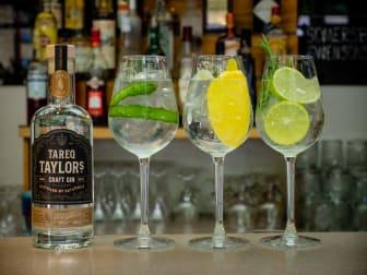Tareq Taylor Craft Gin GT trio