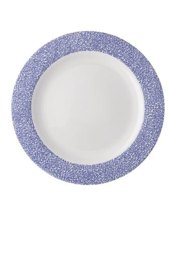 R_Moon_Cipango_Blue_Rim_plate_28_cm
