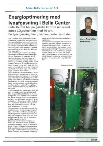QTF referensartikel om Bella Center i Köpenhamn