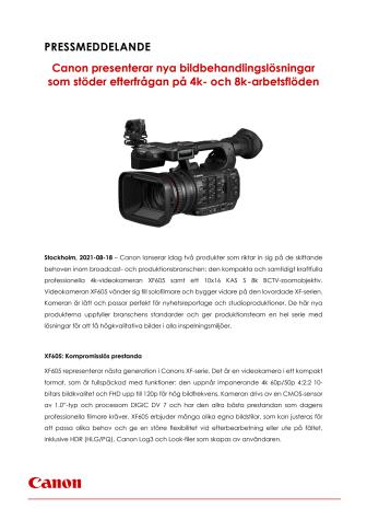 Pressmeddelande Canon XF605 och 10x16 KAS S.pdf