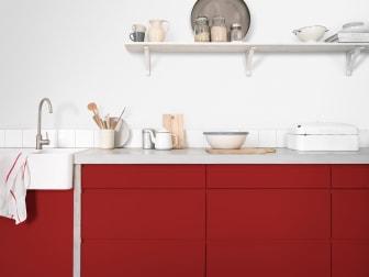 Flexa Mooi Makkelijk Keuken Rood