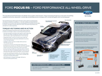 Ford Focus RS - Ford Perfomance All-Wheel-Drive