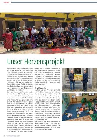 Unser Herzensprojekt: das Maison Gerlach mit dem Starke Kinder e.V. in Burkina Faso