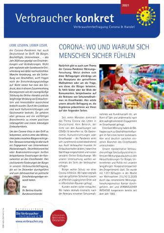 Verbraucher konkret Corona & Handel