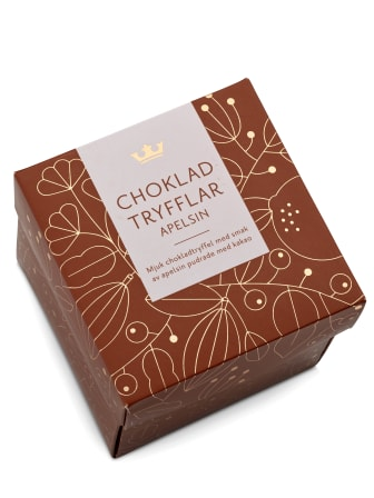 Choklad Tryfflar Apelsin 02