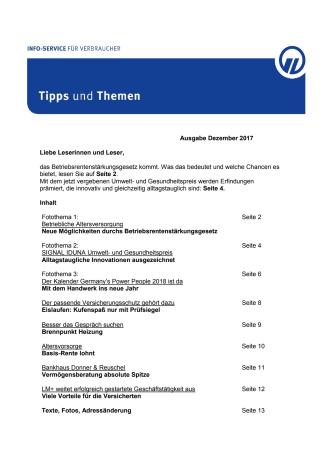 Tipps und Themen 12-2017