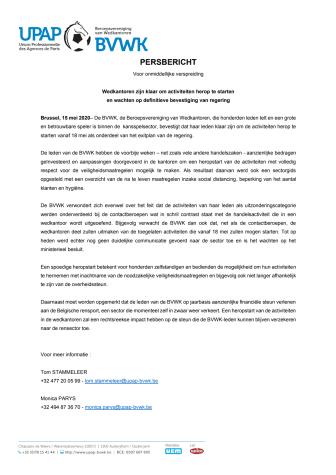 BVWK pleit voor snelle heropening wedkantoren