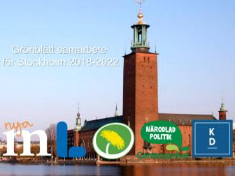 Ett grönblått samarbete i Stockholm har skapats
