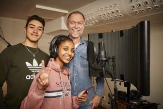 Mimer stödjer Rap-skola i Västerås