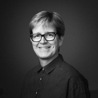 Haninge kommuns stadsträdgårdsmästare Petra Lindvall