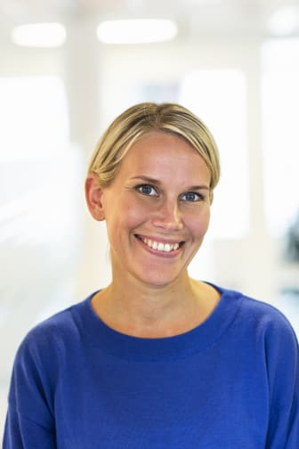 Karolina Brick, miljöchef Riksbyggen