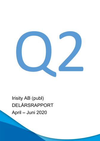 Delårsrapport andra kvartalet 2020