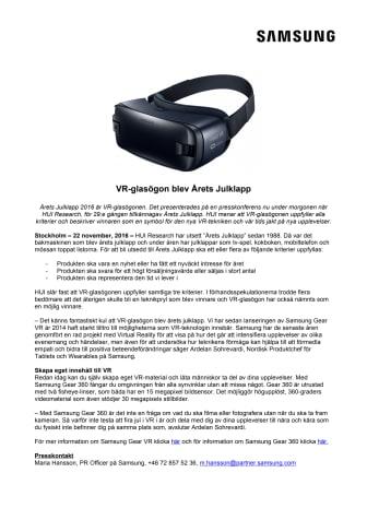 VR-glasögon blev Årets Julklapp