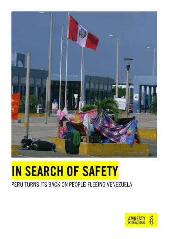 Peru: Olagligt att vägra ta emot människor från Venezuela som söker skydd